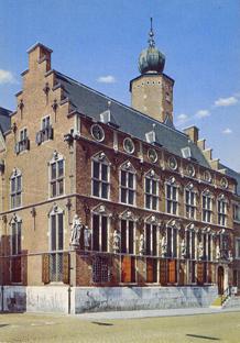 Het oude Stadhuis van Nijmegen waar de ondertekening plaatsvond