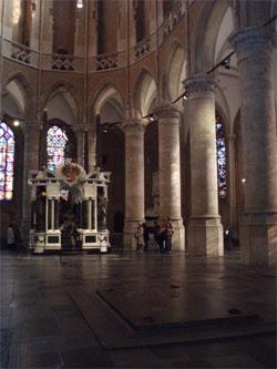 Het graf van Willem van Oranje in de Nieuwe Kerk in Delft. Bron: wikipedia.org