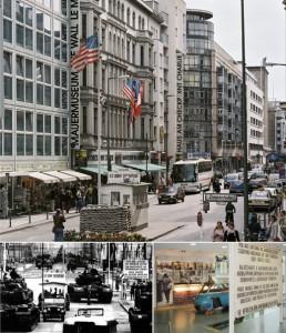 Het Mauermuseum en enkele andere herinneringen. Bron: www.visitberlin.de