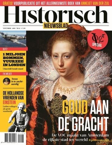 Historisch Nieuwsblad is vernieuwd in 2015. Uit de vormgeving zijn parallellen te zien met uitgaven als Historia.