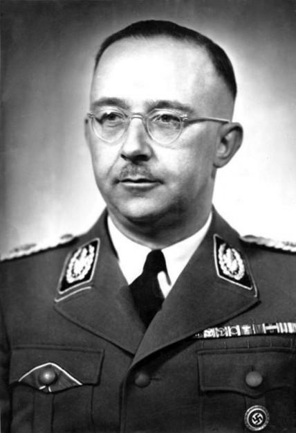 Heinrich Himmler (bron: Wikimedia Commons)