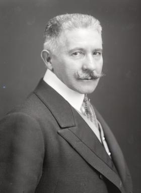 Wladimir Giesl von Gielsingen. De Oostenrijkse ambassadeur in Belgrado en boodschapper van het juli-ultimatum aan Servië. Bron: wikipedia.