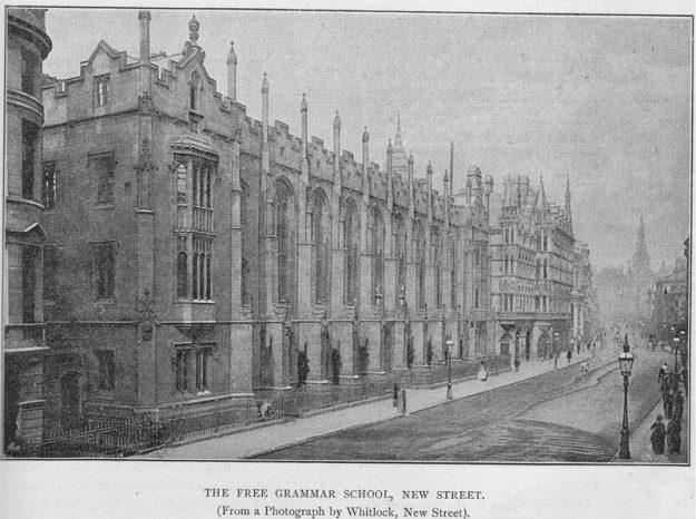 King Edward School 1894