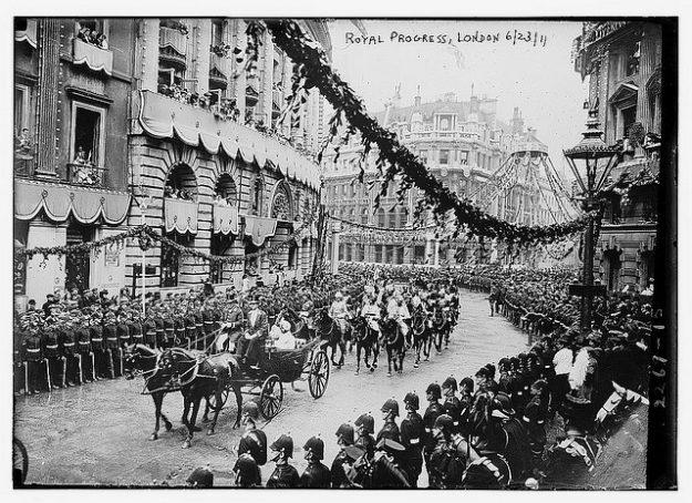 George V kroning 1911