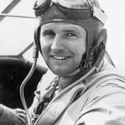 Luitenant Joseph P. Kennedy Jr (bron: wikimedia commons)