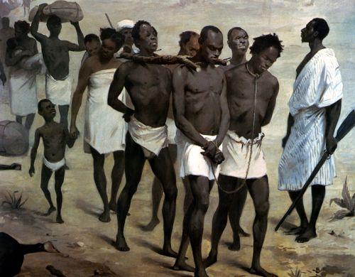 De schepen van de slavenhandelaren voeren naar enkele plaatsen aan de West-Afrikaanse kust. De bemanning van die schepen kwamen zelden meer dan enkele honderden meters landinwaarts. Het waren Afrikanen die meededen aan de lucratieve handel in slaven. Zij immers plukten uit het Afrikaanse continent mannen vrouwen en kinderen om ze voor goed geld over te doen aan de blanke handelaren. Afrikanen zorgden voor de constante aanvoer van nieuw slavenbloed.