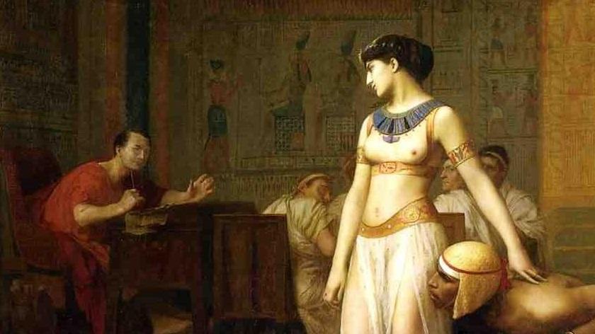 Cleopatra and Mark Antony: The Charm and the Power
