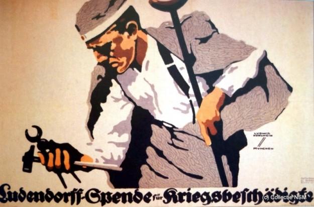 Eerste Wereldoorlog in Steendruk