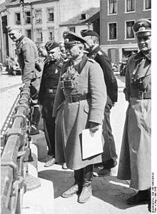 De Duitse generaal Guderian in Boullion. bron: wikimedia commons
