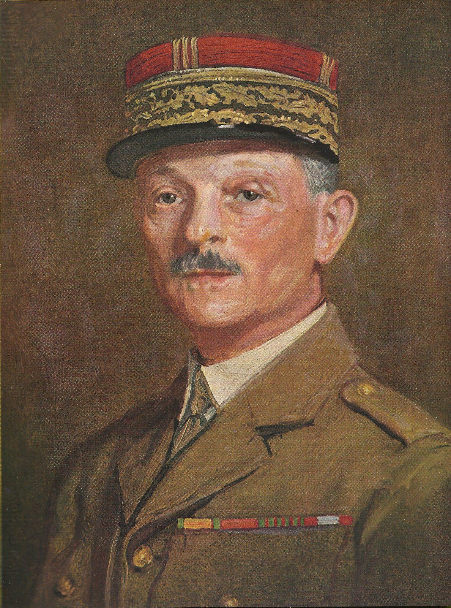 Generaal Maxime Weygand (bron: Wikimedia Commons)