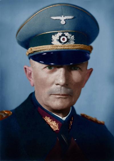 De Duitse bevalhebber Von Bock. bron: wikimedia commons