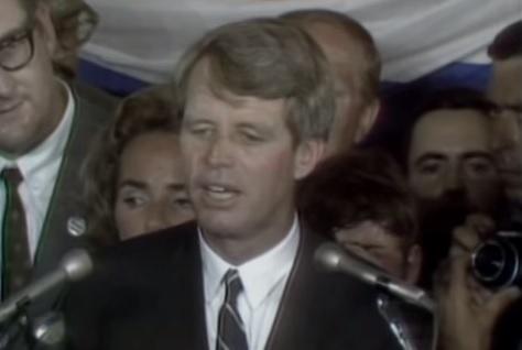 5 juni 1968: Bobby Kennedy's laatste speech in Los Angeles, enkele minuten voordat hij werd neergeschoten