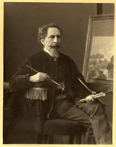 Salomon Verveer. Foto: Maurits Verveer. Bron: www.joodserfgoeddenhaag.nl