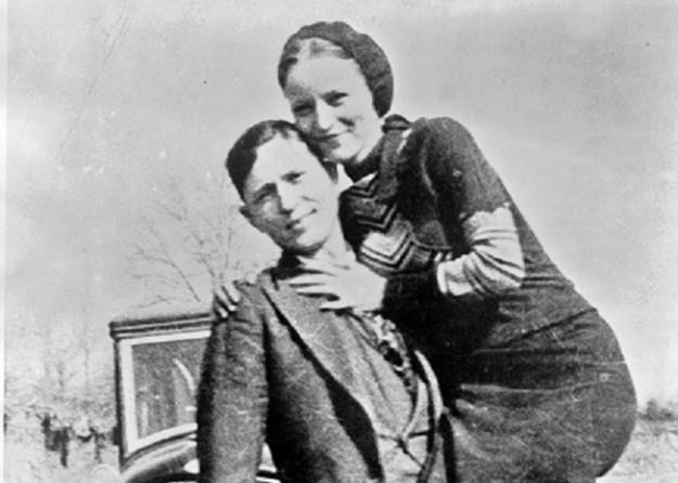Bonnie en Clyde: Lust en liefde... (bron: Wikimedia)