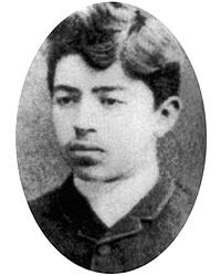 Een van de weinige jeugdfoto's van Sidney George Reilly, de latere inspiratiebron voor James Bond (bron: Wikimedia)
