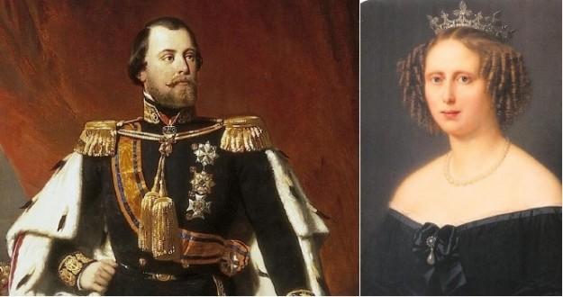 Willem III en zijn nicht Sophie