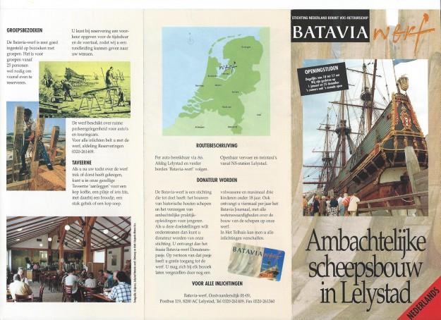 Folder Bataviawerf 1997