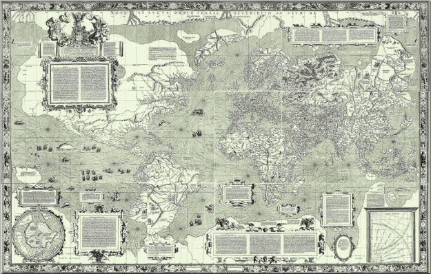 wereldkaart Mercator