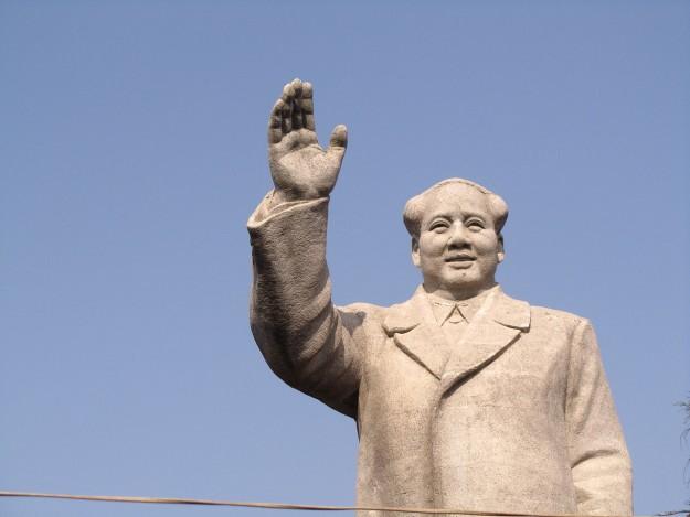 Standbeeld Mao, Nanjing. Bron: commons.wikimedia.org