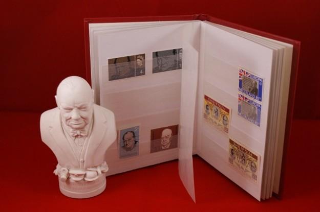 Churchill postzegel