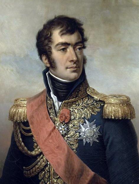 Generaal Auguste Marmont: aanlegger van de Pyramide van Austerlitx. bron: wikimedia commons