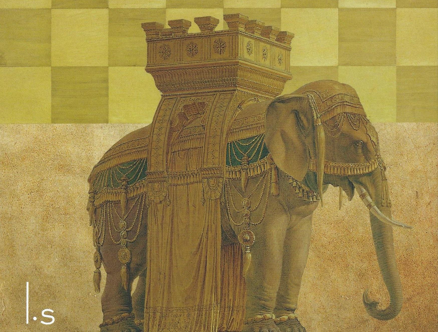 roze olifant verhaal