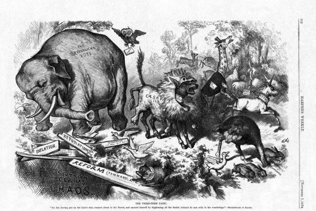 De ezel en de olifant