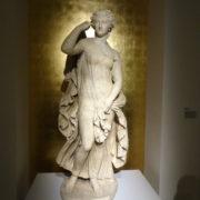 Beeld van een Griekse nimf dat Goethe wilde aanschaffen. Foto auteur.