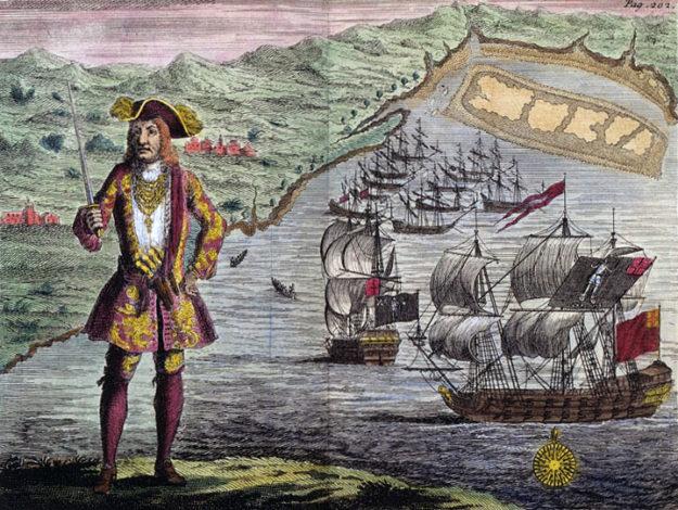 Piratenvlaggen van Bartholomew Roberts