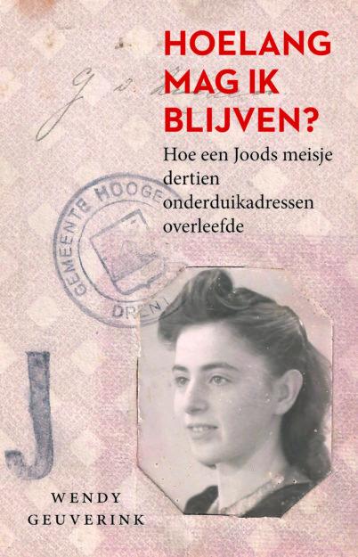 Omslag van het werk 'Hoelang mag ik blijven' met foto van Truus.
